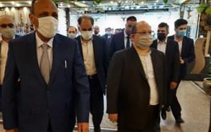 وزیر تعاون و کار ایران وارد نجف شد