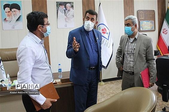 جلسه باز اندیشی فعالیت های معاونت  پرورشی و فرهنگی آموزش و پرورش استان بوشهر
