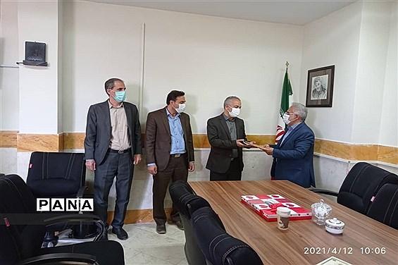 انتصاب معاون جدید پرورشی و تربیت بدنی شهرستان نظر آباد