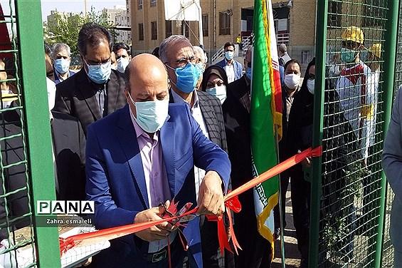 افتتاح پروژههای ورزشی شهرستان قرچک