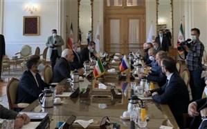آغاز گفتوگوی وزرای خارجه ایران و روسیه