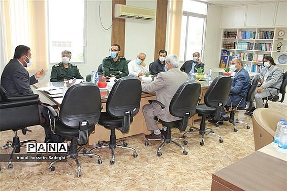 جلسه هماهنگی و برنامهریزی راهیان نور مجازی  آموزش و پرورش استان بوشهر