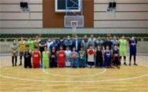 برگزاری اردوی منتخبان بسکتبال منطقه 4 کشوری در تبریز