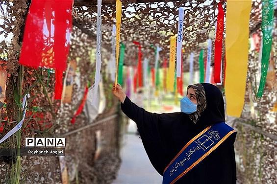 برگزاری مراسم نمادین راهیان نور در شهرستان قرچک