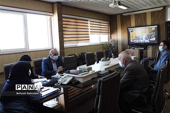 نشست مجازی هیات رئیسه مجلس دانش آموزی کشور با وزیر آموزش و پرورش