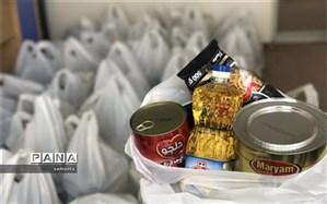 توزیع 50 بسته معیشتی بین نیازمندان در ایام ماه مبارک رمضان