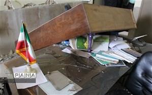 مدارس مناطق زلزلهزده «سیسخت» با کمک 4 استان معین در حال بازسازی است