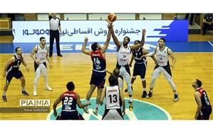 یاران شاهین طبع در ابتدای راه فینال لیگ برتر بسکتبال