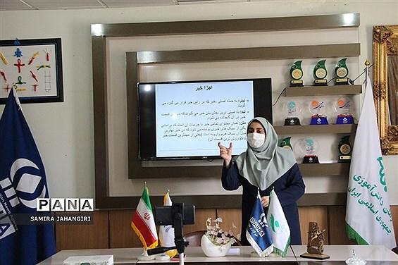 برگزاری آموزش مجازی خبرنگاران دختر پانا ویژه شهرستانهای استان