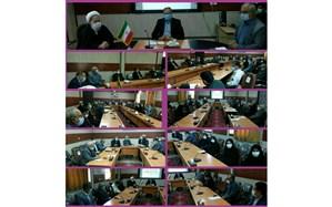 اولین نشست شورای آموزش وپرورش خلیل آباد درسال ۱۴۰۰ برگزار شد