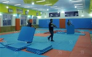 تجهیز یک سالن ویژه برای ورزش دانش آموزان دختر