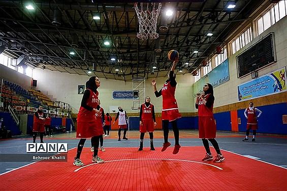 دومین مرحله  اردو آماده سازی تیم ملی بسکتبال  سه نفره بانوان