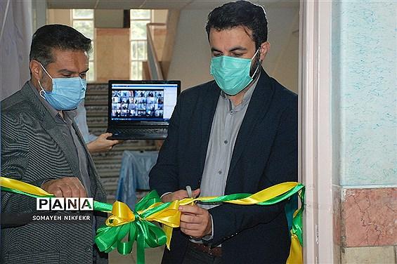 آیین افتتاح اتاق بهداشت درسه دبستان ناحیه یک ری، به مناسبت هفته سلامت