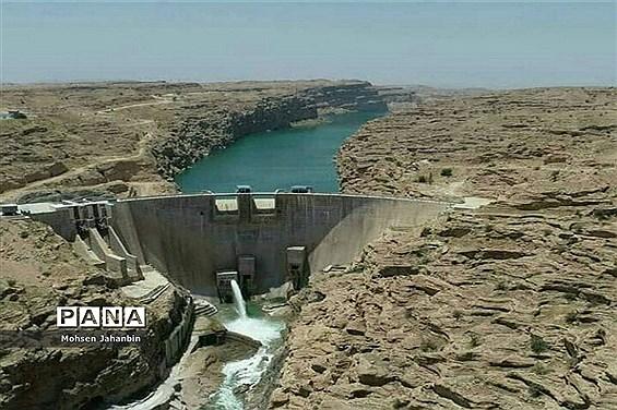 سد مخزنی رئیس علی دلواری در بخش شبانکاره استان بوشهر