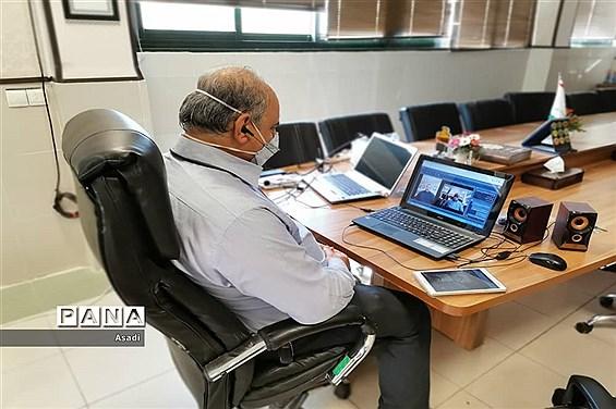 نشست مجازی کمیسیون های مجلس دانشآموزی فارس