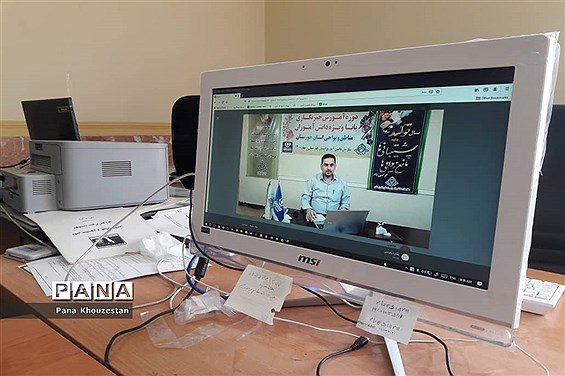 نخستین روز دوره آموزشی دانشآموز  خبرنگاران  پانا خوزستان