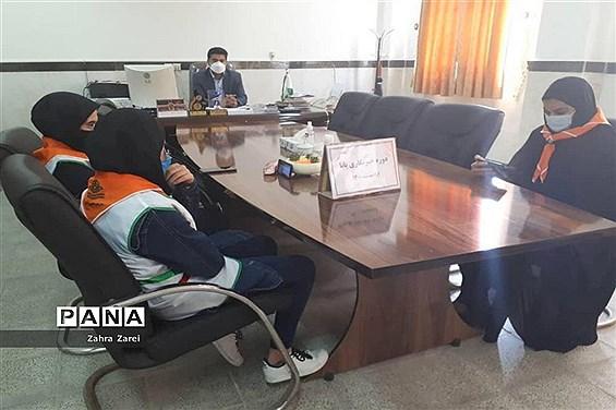 اولین روز دوره آموزشی خبرنگاران دختر پانا شهرستان عسلویه