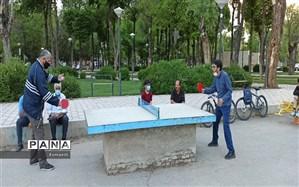 افزایش امکانات ورزشی در پارک های شهرکرد