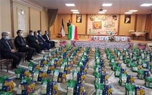 رزمایش کمک های مومنانه بسیج دانش آموزی نواحی پنجگانه تبریز برگزار شد
