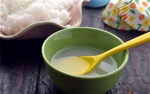 با خواص آب برنج  آشنا شوید