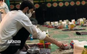رزمایش همدلی در دبیرستان ملاصدرا منطقه ١۴ برگزار شد