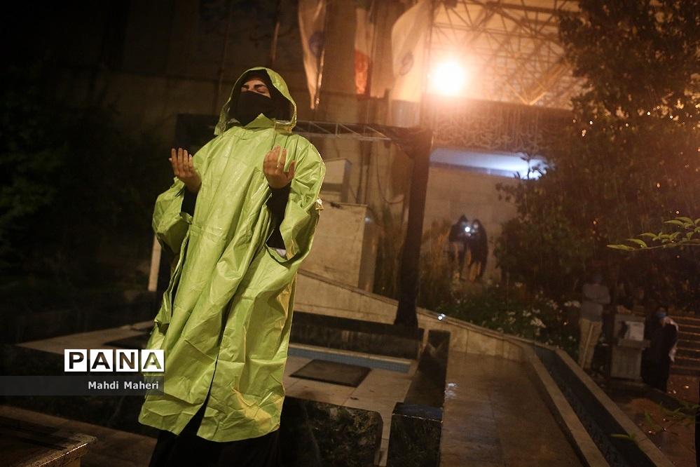 احیای شب نوزدهم ماه رمضان  دردانشگاه تهران