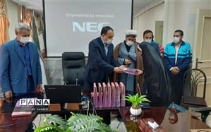 اهدای 72 تبلت به دانش آموزان تحت پوشش کمیته امداد شهرستان کلات