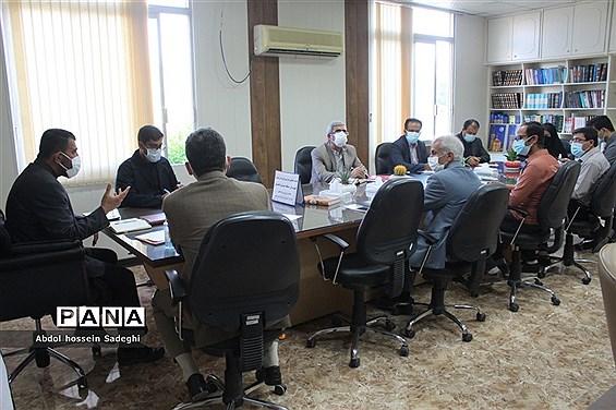 جلسه هفتگی میز شهرستانها و مناطق معاونت پرورشی و فرهنگی آموزش و پرورش استان بوشهر
