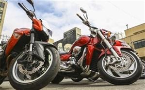 توقیف ۳ موتورسیکلت سنگین در بزرگراه همت