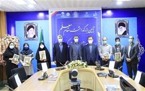 تجلیل مدیر کل آموزش و پرورش کردستان از معلمان سرآمد استانی