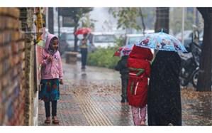 وقوع بارشهای بهاری در ساعات بعد از ظهر