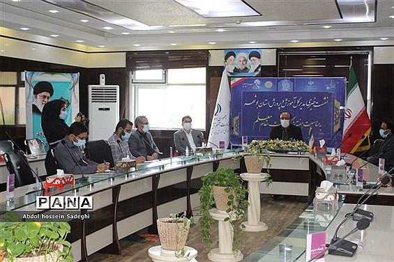 نشست خبری مدیرکل آموزش و پرورش استان بوشهر