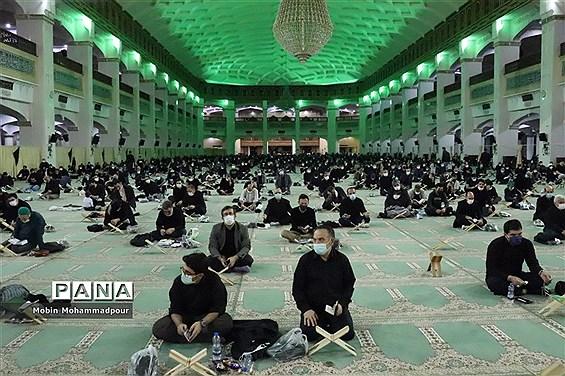 مراسم شب قدر در مصلای امام خمینی تبریز