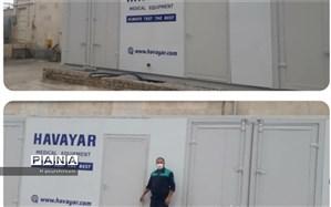 دو دستگاه اکسیژن ساز توسط وزارت بهداشت به شهرکرد رسید