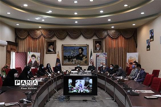 برگزاری نشست خبری مسئول سازمان بسیج سازندگی سپاه عاشورا آذربایجان شرقی