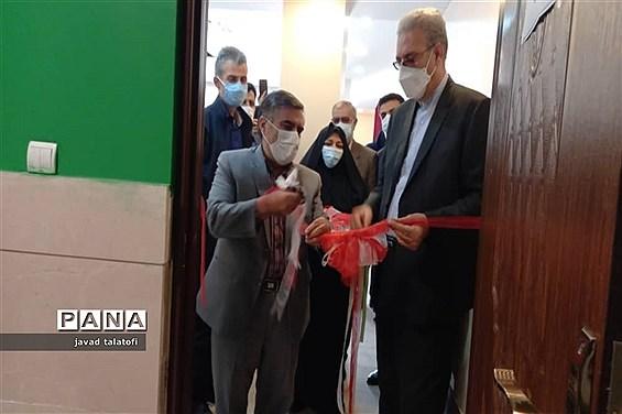 افتتاح ساختمان آموزشی و استودیو تولید محتوا مجازی در مدرسه ناشنوایان الهام ناحیه دو شهر ری