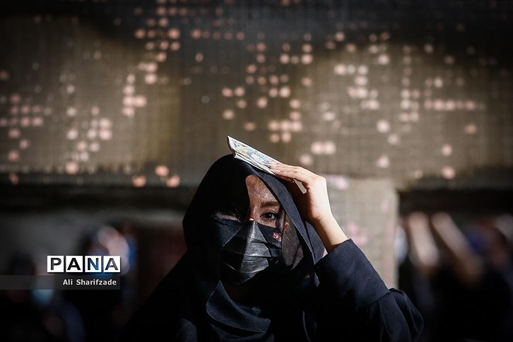 مراسم احیای شب بیست و سوم در حسینیه ریحانه الحسین