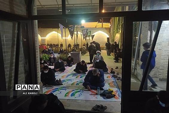 مراسم شب های قدر در مسجد ولیعصر هیات فاطمیون زنجان