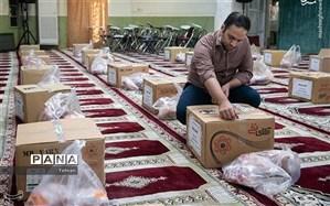 اجرای پویش کمک های مومنانه در مسجد امام حسن مجتبی (ع) منطقه ۱۴