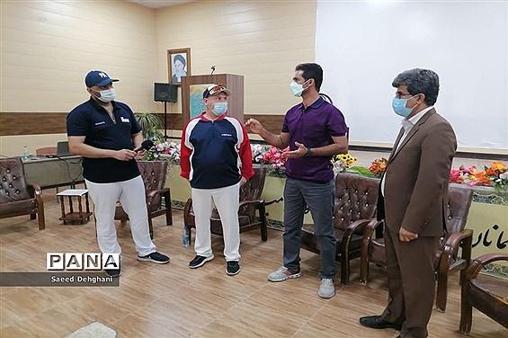 دوره آموزشی توجیهی بیسبال ۵ در بوشهر