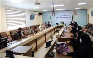 مراسم بیست و دومین سالروز تاسیس سازمان دانش آموزی در البرز برگزار شد
