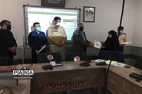 آیین گرامیداشت سالروز تاسیس سازمان دانشآموزی درمناطق و نواحی استان خوزستان -2
