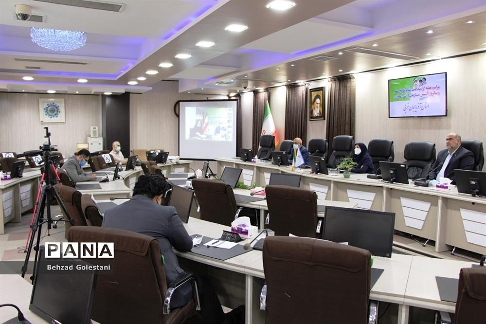 آیین گرامیداشت سالروز تأسیس سازمان دانشآموزی در آذربایجان غربی