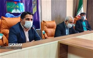 برگزاری مراسم سالروز تاسیس سازمان دانش آموزی در شهرستان امیدیه