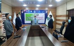 حضور مدیرکل و معاون پرورشی و فرهنگی استان هرمزگان در مراسم سالگرد تاسیس سازمان دانش آموزی