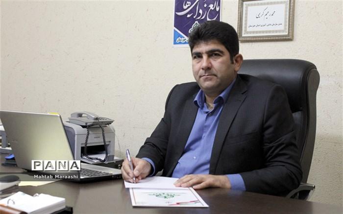 پیام تبریک  مدیرسازمان دانش آموزی خوزستانبمناسبت سالروز تاسیس سازمان دانش آموزی