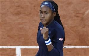 تنیس اوپن ایتالیا؛ دختر 17 ساله اولین شگفتی را ثبت کرد