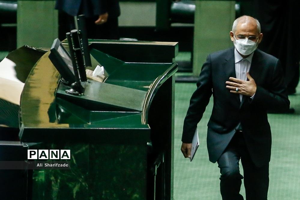 حضور وزیر آموزش و پرورش  در صحن علنی مجلس شورای اسلامی