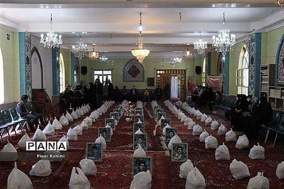 برگزاری رزمایش کمک های مومنانه ناحیه پنج  تبریز