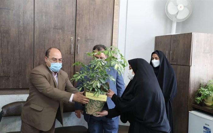 تبریک مدیر آموزش و پرورش ناحیه ۲ مشهد به مناسبت سالروز تاسیس سازمان دانش آموزی